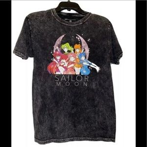 NEW Sailor Moon Sailor Scouts Vtg style tee shirt